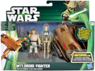 MTT Droid Fighter + Battle Droid & Obi-Wan Kenobi