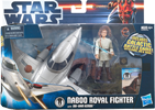 Naboo Royal Fighter with Obi-Wan Kenobi