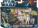 Republic Attack Dropship with Clone Pilot