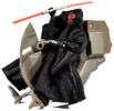 Sith Speeder with Darth Maul