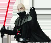 Darth Vader Unmaskiert