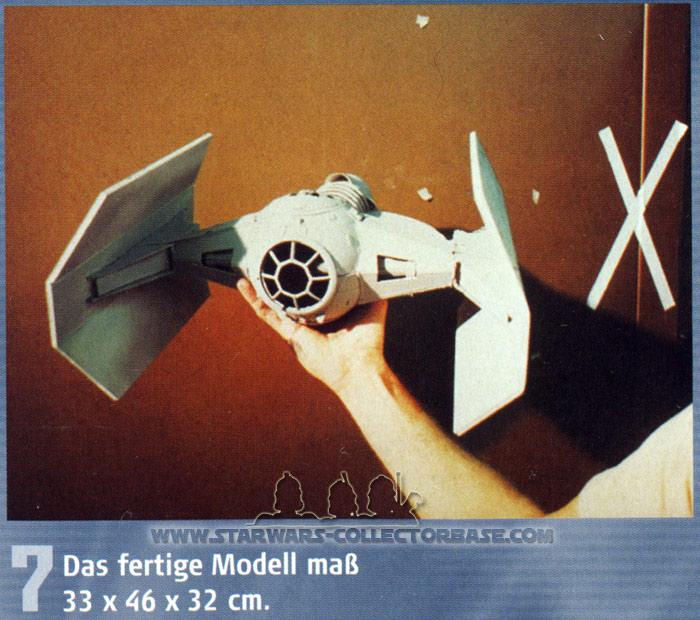 DeAgostini - TIE Advanced X1