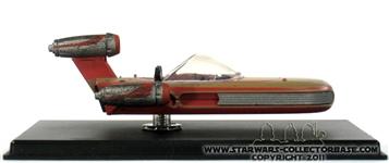 SoroSuub X-34 Landgleiter (land speeder) DeAgostini #33