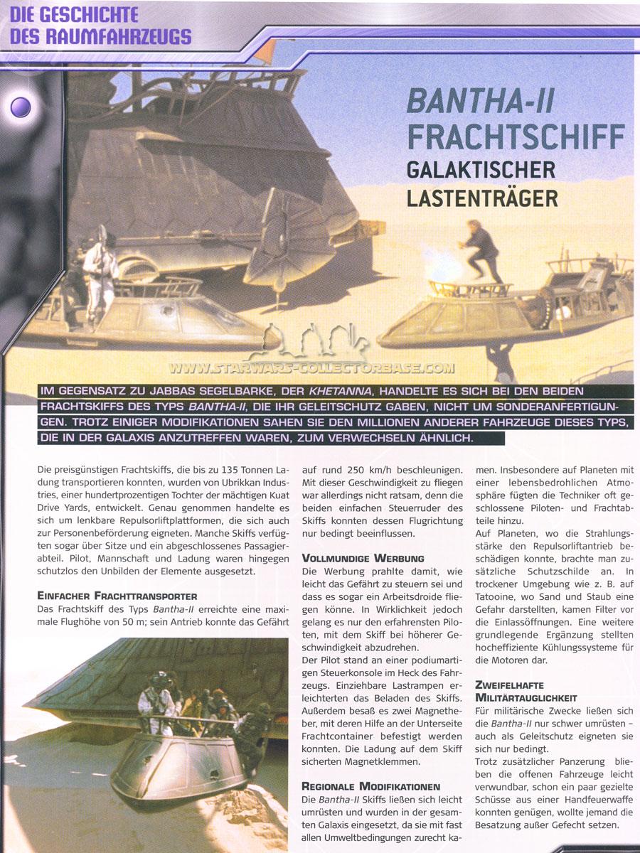 Jabbas Frachtskiff (skiff) DeAgostini #58
