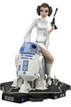 Princess Leia und R2-D2