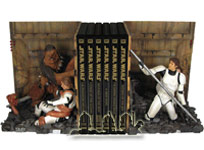 Death Star Trash Compactor Buchstützen