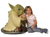 Yoda Animated Statue