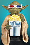 Yoda With 3-D glasses