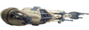 B-Wing including sullustan Pilot POTJ