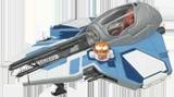 Aayla Secura's Jedi Starfighter T30AC