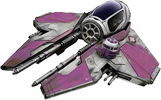 Mace Windu's Jedi Starfighter T30AC