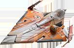 Saesee Tiin's Jedi Starfighter T30AC