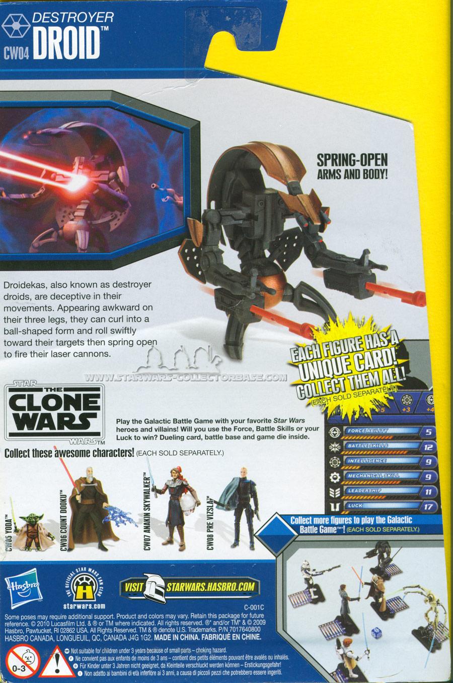 Destroyer Droid CW04 TCW