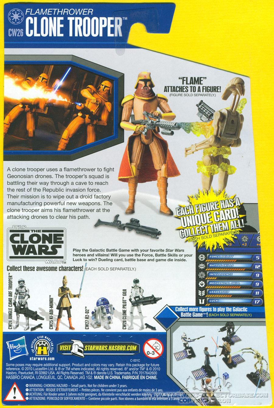 Flamethrower Clone Trooper CW26 TCW
