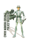 CW09 mandalorian Police Officer