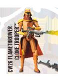 CW26 Flame Thrower Clone Trooper