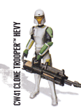 CW41 Clone Trooper Hevy (Training Gear)