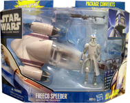 Freeco Speeder with Clone Trooper