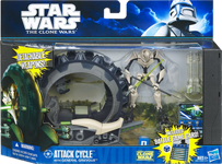 General Grievous and Mini Wheel Bike