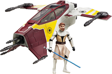 Obi-Wan Kenobi and Attackk Shuttle