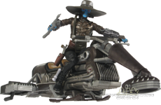 Pirate Speeder Bike with Cad Bane