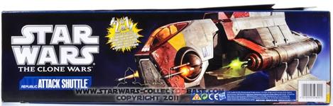 Republic Attack Shuttle TCW