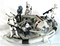 Republic Swamp Speeder Hasbro TVC