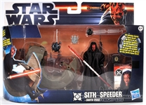 Sith Speeder Bike with Darth Maul Movie Heroes