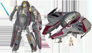 Obi-Wan Kenobi / Jedi Starfighter