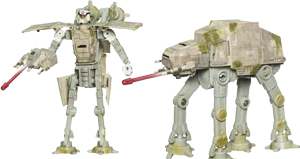 Imperial Trooper / AT-AT