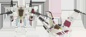 Clone Pilot to V-19 Torrent Starfighter