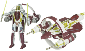 Kit Fisto / Jedi Starfighter