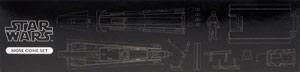 Nose Cone Set - Kotobukiya T-65 X-Wing 3D Cross Section Model Kit