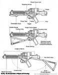 """Modified"" Sterling Machine Gun - E-11"