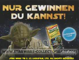 2012 - Star Wars Episode I Gewinnspiel