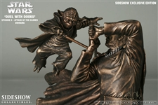 oda VS Count Dooku Faux- Bronze