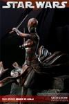 Anakin Skywalker VS Asajj Ventress Faux- Bronze