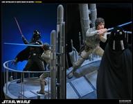 Luke Skywalker vs Darth Vader on Bespin
