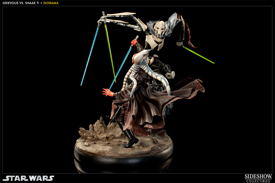'Hunt for the Jedi' - Shaak Ti vs General Grievous