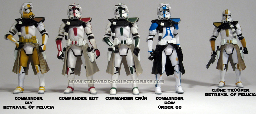ROTS 33 Clone Commander grne Version  STAR WARS COLLECTORBASE