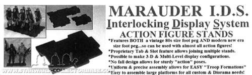 Marauder - Interlocking Display System Actionstand