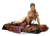 Princess Leia as Jabba´s Slave
