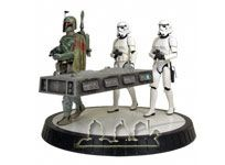 Boba Fett, Han Solo in Carbonite & Stormtroope