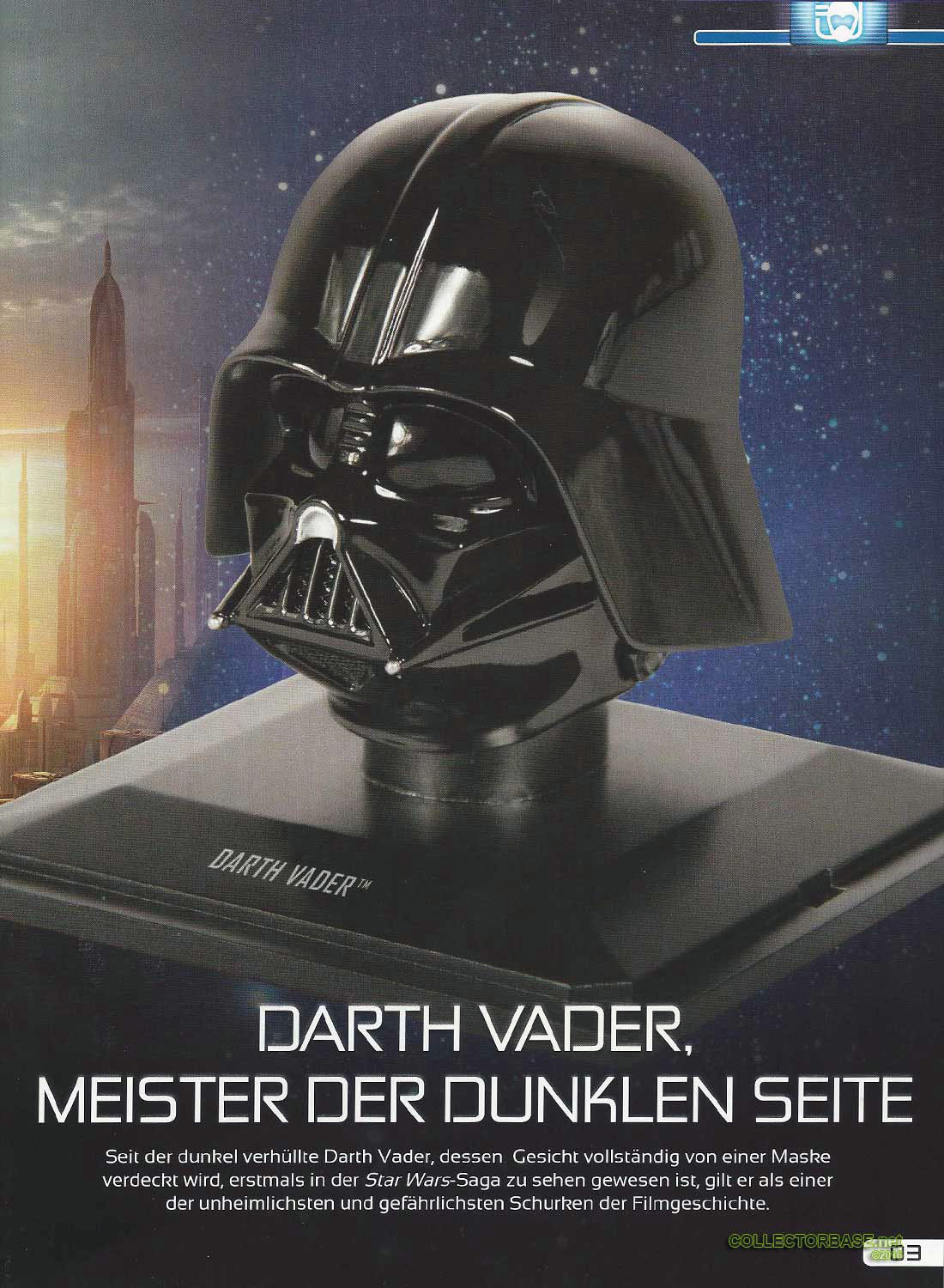 01 helme ausgabe 1 starwars collectorbase. Black Bedroom Furniture Sets. Home Design Ideas