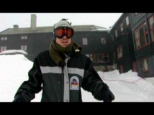 Das Hotel in die Crew in Norwegen gelebt und gefilmt hat.