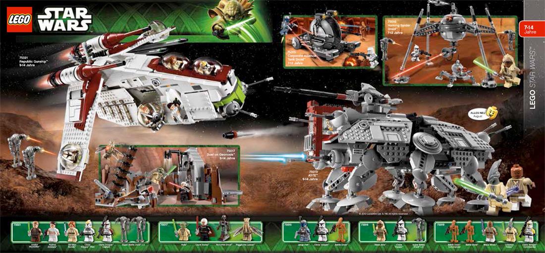 Lego Neuheiten Ab August Starwars Collectorbase