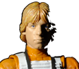 Hasbro 6inch The Black Series - Luke Skywalker #01